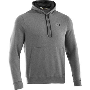 Under Armour Men's Charged Cotton Storm Transit Hoody - True Grey/Heather/Black