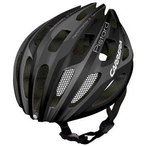 Carrera Pistard 2014 Road Helmet with Rear Light - Matt Black/Silver