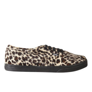 Vans Women's Authentic Lo Pro Trainers - Furry Leopard