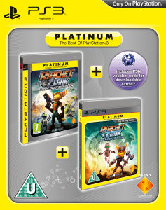 Ratchet & Clank: Tools of Destruction & Ratchet & Clank: A Crack in Time (Platinum Twin Pack)