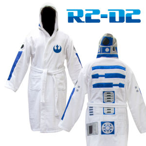 Star Wars R2D2 Adult Towel Bathrobe