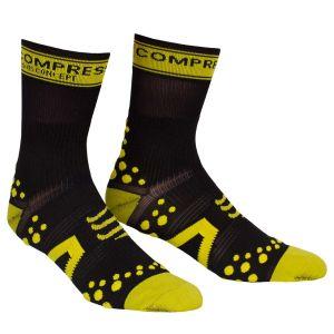 Compressport Pro Racing Socks - Bike - Black/Yellow