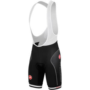 Castelli Free Aero Race Bib Shorts - Black/Red
