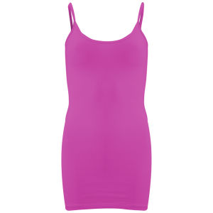 Vero Moda Women's Maxi Basic Vest - Raspberry Rose