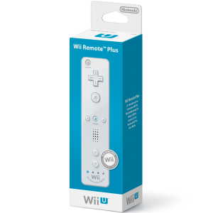 Wii U Remote Plus - White