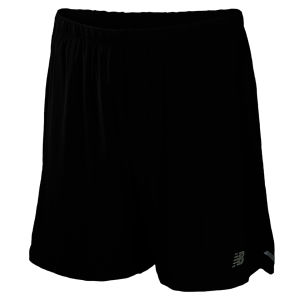 New Balance Men's 7 Inch 2 In 1 Shorts - Black