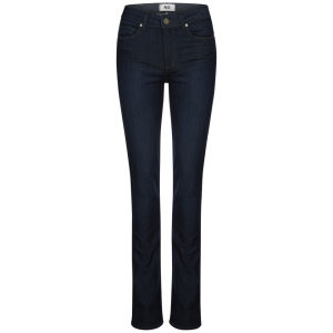 Paige Women's Hoxton High Rise Straight Leg Jeans - Kelly