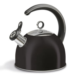 Morphy Richards Accents 2.5 Litre Whistling Kettle - Black