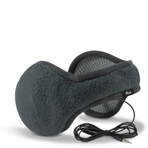 180s Men's Tec Fleece Headphone Earwarmers - Black Soot/Steel Grey - One Size