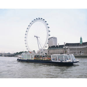 Lunch Cruise and Trip on the London Eye for Two
