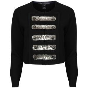 Marc by Marc Jacobs Women's Cadette Sweater Cardigan - Black