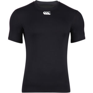 Canterbury Men's Baselayer Cold Short Sleeve Top - Black