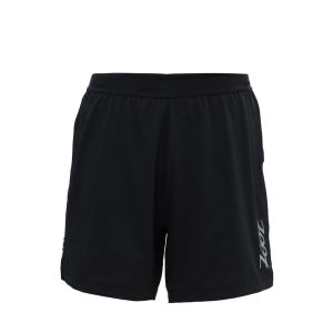 Zoot Men's Ultra Run Icefil 2-1 6 Inch Shorts - Black