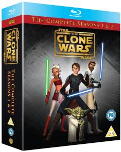 Star Wars: The Clone Wars - Seasons 1-2 Complete