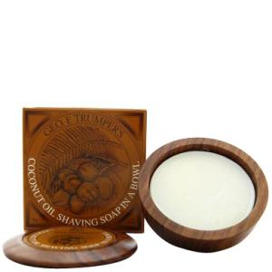 Trumpers Coconut Oil Hard Shaving Soap Refill 80g