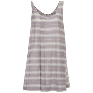 Chloe Women's Striped Vest Top - Purple