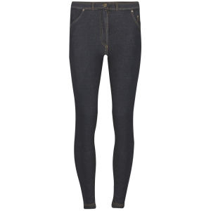 Influence Women's Zip Front Jeggings - Black
