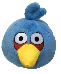Angry Birds: 8 Inch Plush Blue Bird