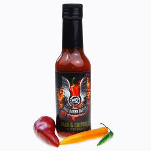 Hot-Headz! Who Dares Burns! Chipotle Naga Sauce