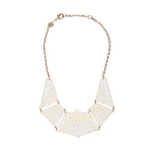 Tatty Devine Future Circuit Necklace - White