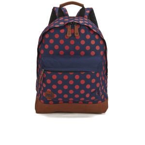 Mi-Pac All Polka Backpack - Navy/Red