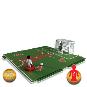 Character Building Sports Stars Penalty Shoot Out with 2 Figures