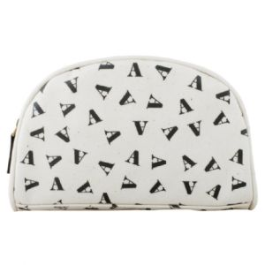 Tumbling Initial Make-Up Bag - A