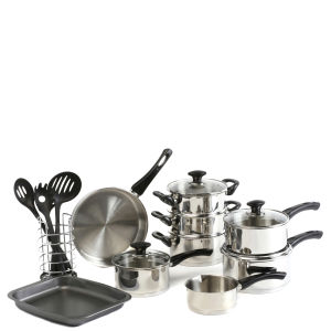 Swan 18 Piece Cookware Set