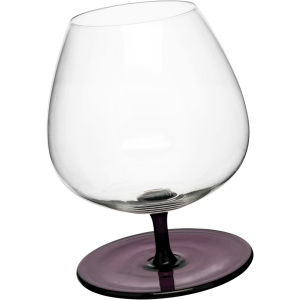 Sagaform Rocking Brandy Glasses with Rounded Base - Purple (2 Pack)
