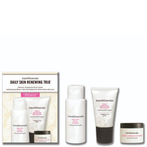 bareMinerals Daily Skin Renewing Trio Combination Skin (3 Products)