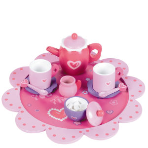 Tidlo Wooden Tea Time Set