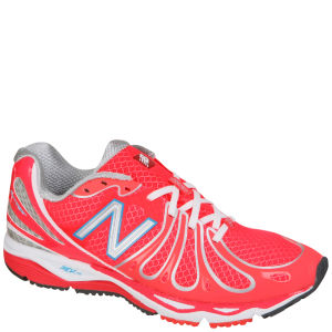 New Balance Women's W890 v3 Speed Running Trainer - Pink/Silver
