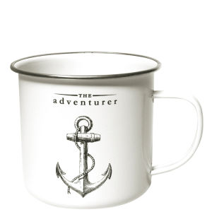 Victoriana The Adventurer Enamel Mug