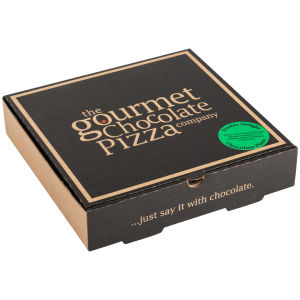 the gourmet chocolate pizza company double delight 7 inch pizza iwoot. Black Bedroom Furniture Sets. Home Design Ideas