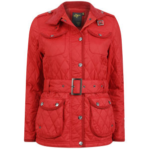 Le Breve Women's Prince Lightweight Jacket - Red