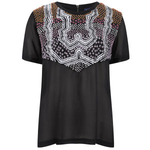 April, May Women's Yuko Top - Black