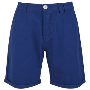 Soul Star Men's Chino Melton Shorts - Cobalt