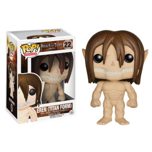 Attack on Titan Eren Jaeger Titan Form Funko Pop! Figur