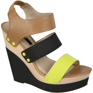 Senso Women's Tessa Wedges - Fluro Yellow