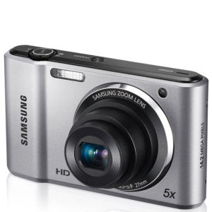 Samsung ES91 Compact Digital Camera (14MP, 5x Optical, 2.7 Inch LCD) - Silver