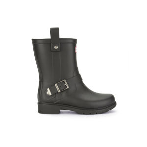 Hunter Women's Shoreditch Ladies Biker Wellies - Black