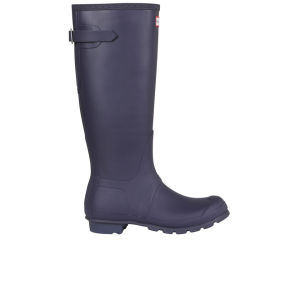 Hunter Women's Original Back Adjustable Wellies - Aubergine