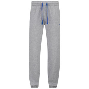 Gola Men's Murray 2 Fleece Jog Pants - Grey Marl/Cobalt Blue