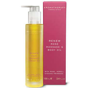 Aromatherapy Associates Renew Rose Massage And Body Oil 100ml