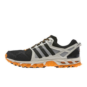 adidas Men's Kanadia Tr 6 M Trainers - Chalk/Black/Solar Zest
