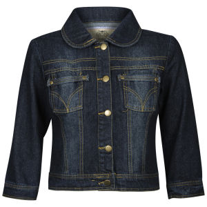 Chickster Women's Denim Jacket - Blue