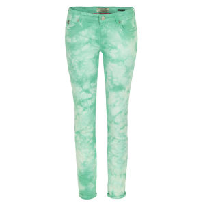 Maison Scotch Women's 85713 La Parisienne Skinny Jeans - Mint Dream