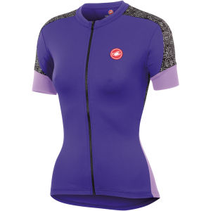 Castelli Scarabocchio Jersey - Violet/Lillac
