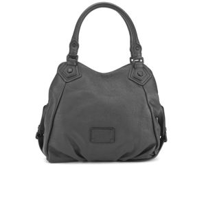 Marc by Marc Jacobs Electro Q Fran Leather Tote Bag - Black