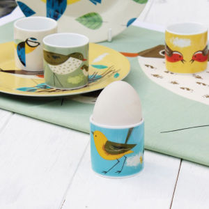 Birdy Set of 4 Egg Cups